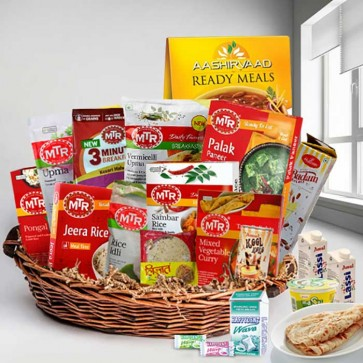 Delicious Indian Home Cooking Lunch Gift Hamper