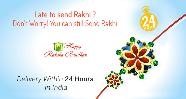 Same Day Rakhi Delivery in India