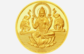 Diwali Ganesh Lakshmi Coins Gifts to India