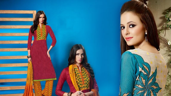 Mother's Day Salwar Kameez