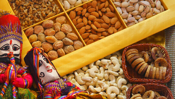 Send Dryfruits to India