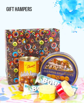 Send Holi Gift Hampers to India