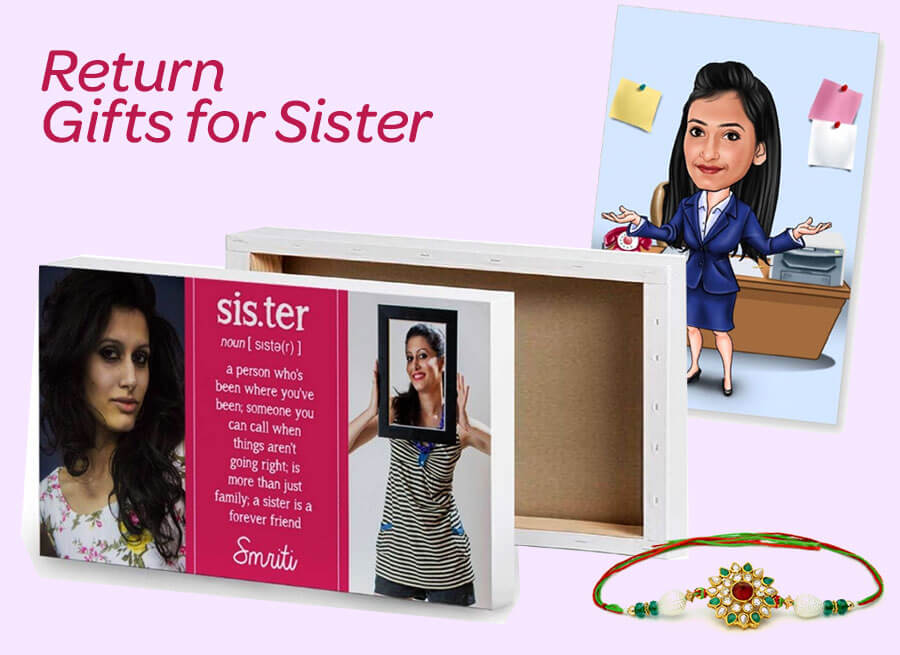 Send Return Gifts For Sister To India