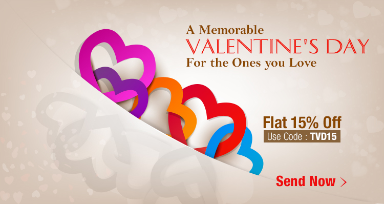 Send Valentine Gifts to India - Talash.com